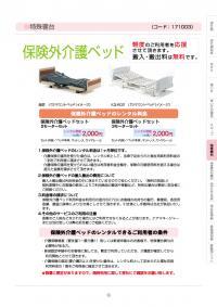 特殊寝台 保険外介護ベッド(171003)